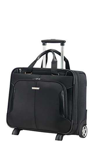 Samsonite XBR Business Case à roulettes 15,6 Pouces Mallette Pilote, 46 cm, 27,5 L, Noir