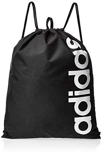 adidas Linear Core Sac à cordon, 47 cm, Black/Black/White