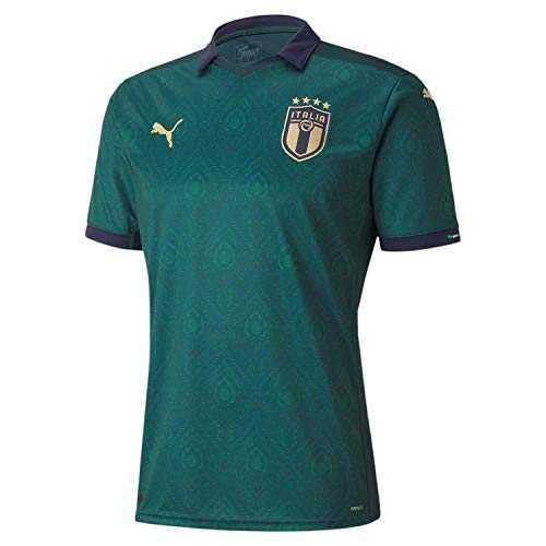 PUMA FIGC Third Shirt Replica Maillot Homme, Ponderosa Pine-Peacoat, FR (Taille Fabricant : XL)