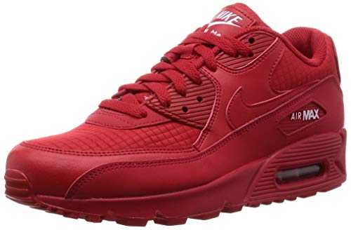Nike Air Max 90 Essential, Chaussures de Gymnastique Homme, Rouge (Univ Red/White 602), 42 EU