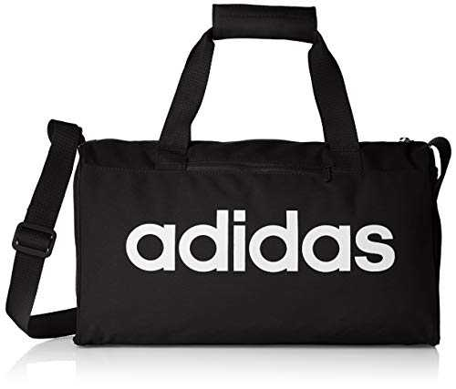 Adidas Lin Core DUF XS Sac de gym Mixte Adulte, Black/White, FR Unique (Taille Fabricant : NS)
