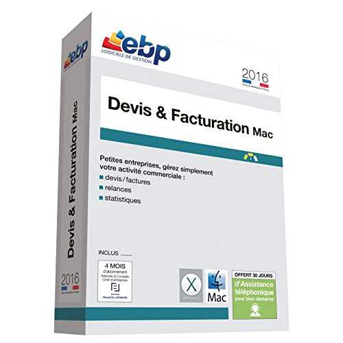 EBP Devis et Facturation MAC 2016