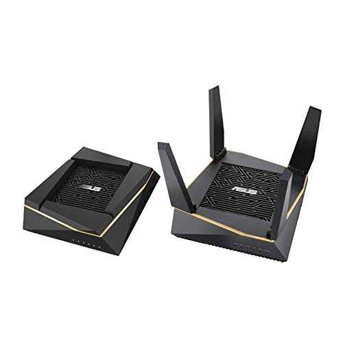 Asus Router RT-AX92U(2pk) Wi-FI 6 AX6100 Tri-Band Mesh WiFi System, SSID Setting, AiProtection Pro, Network Security Powered by Trend Micro
