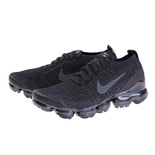 Nike Air Vapormax Flyknit 3, Chaussures d´Athlétisme Homme, Multicolore (Black/Anthracite/White/Metallic Silver 000), 42 EU