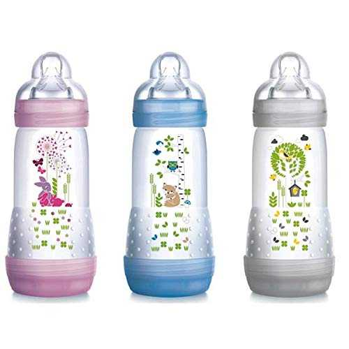 Mam First Bottle Biberon 320ML, Couleurs Assorties, 1 Pièce