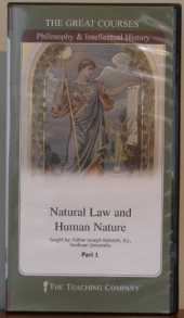 Natural Law and Human Nature (The Great Courses)
