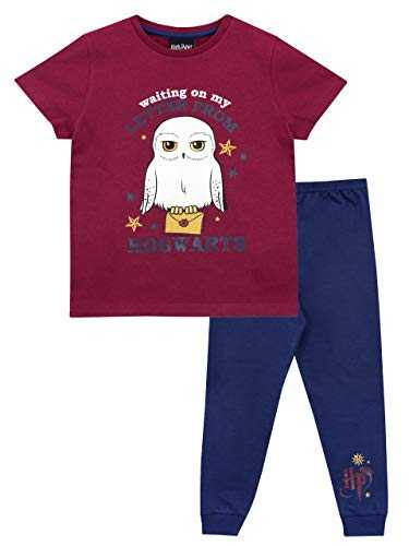 Harry Potter - Ensemble De Pyjamas - Hedwig - Fille - Bleu - 12-13 Ans