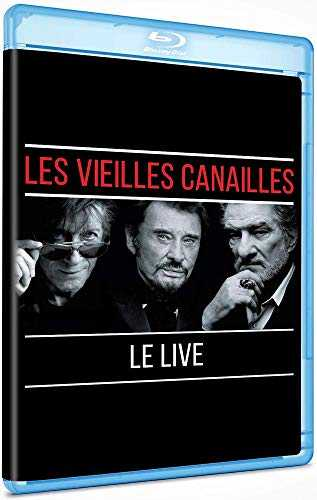 LES VIEILLES CANAILLES - L'ALBUM LIVE (BLU RAY) [Blu-ray]