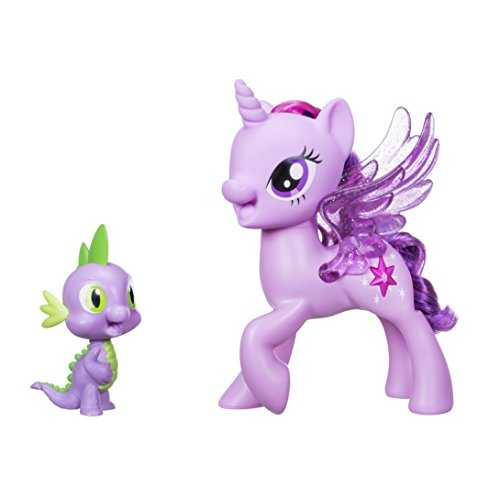 Mon Petit Poney Princess Twilight Sparkle Spike Le Dragon d'amitié Duet