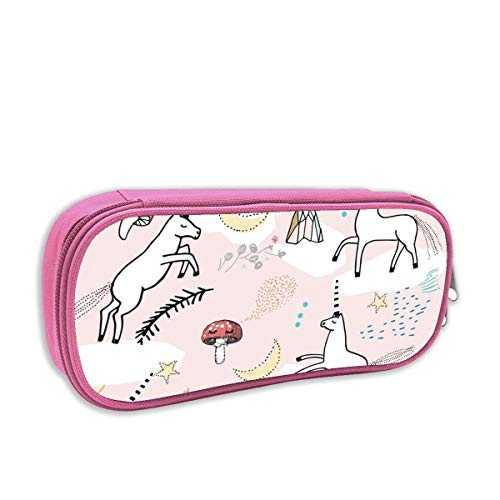 trousse à crayons fille,Licorne Lullaby (blush) MED_5134, rose