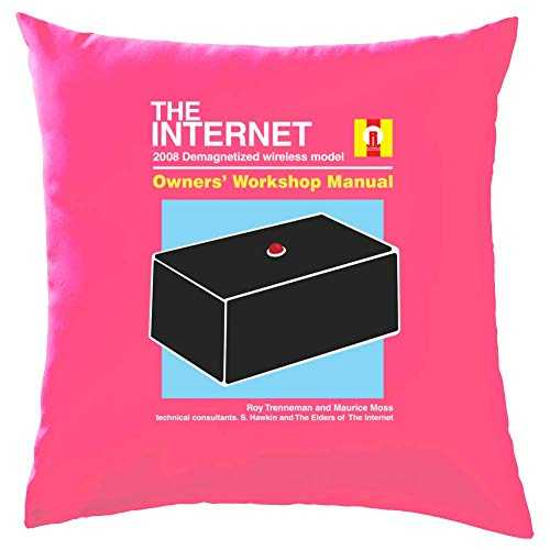 Dressdown The Internet Owners Manual - Coussin - Azalée