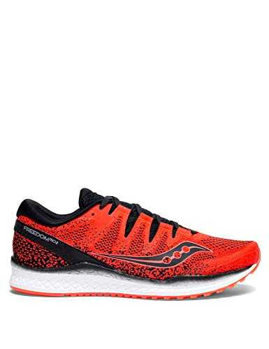 Saucony Freedom Iso 2, Chaussures de Running Homme, Rouge (Vizired/Black 035), 42 EU