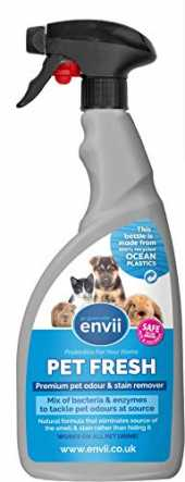 Envii Pet Fresh - Eliminateur de taches et d'odeur d'urine d'animaux – 750ml
