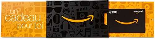 Carte cadeau Amazon.fr - €100 - Dans un étui Amazon orange