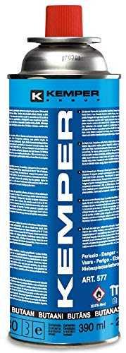Kemper UN 2037 Lampes & réchauds à gaz, Neutre, 390 ML ...