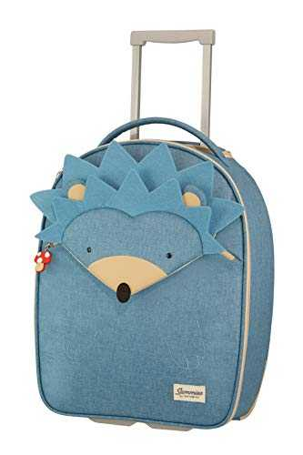 Samsonite Happy Sammies - Upright Bagage Enfant, 45 cm, 23 Liter, Bleu (Hedgehog Harris)