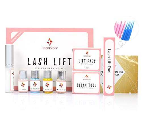 ICONSIGN Version améliorée kit rehaussement de cils Lash lifting kit Eyelash Perm Kit Glue Upgraded Version.