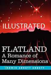 Flatland: A Romance of Many Dimensions Illustrated (English Edition)