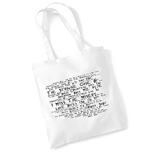 Studio d'art Sac fourre-tout – Halestorm – The Strange Case of... – Noir Paranoia Aprés-midi – Musique Paroles Album Art Poster Print Plage Gym Festival Shopper Cadeau