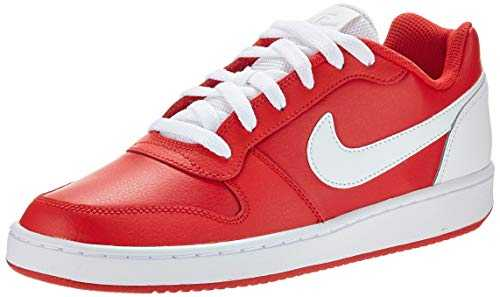 Nike Ebernon Low, Chaussures de Basketball Homme, Rouge (University Red/White 000), 41 EU