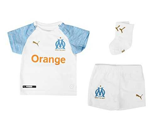 Puma T-Shirt Synthétique Om Home Baby KIT,Blanc,2A