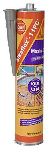 Sikaflex 11 FC , Mastic-colle multi-usages et multi-supports, 300ml, Gris béton