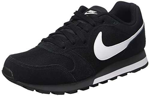 Nike MD Runner 2, Baskets Mixte Adulte, Noir (Black/White-Anthracite 010), 42