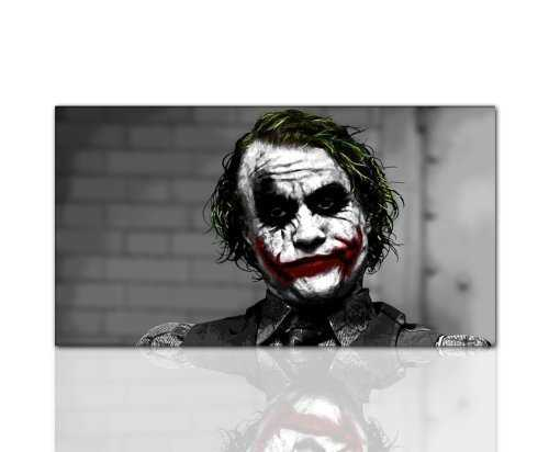 ps-art the Dark Knight Joker 3 Tableau sur toile 100 x 60 cm