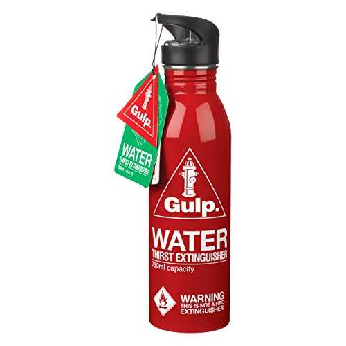 Dean Gourde Gulp Thirst Extinguisher Rouge