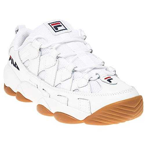 Fila Spaghetti Low Fille Baskets Mode Blanc