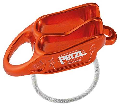 Petzl Assureur Reverso Rouge Adulte Unisexe, One Size