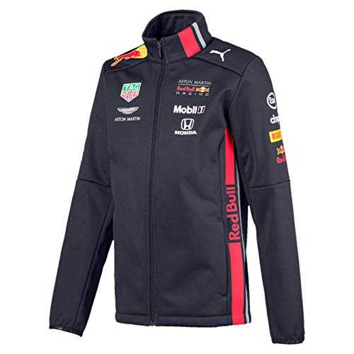 PUMA Red Bull Racing Jungen Team Softshelljacke Night Sky 152