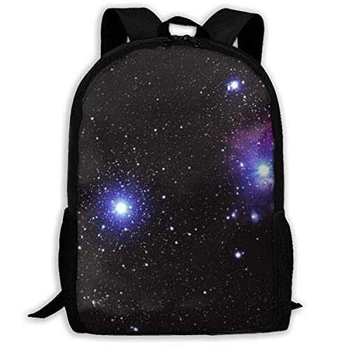 Space Galaxy Radiance Wallpaper Background Standard Customized Casual Sac à Dos Ultra Light Adjustable Strap Unisex for Outdoor Travel