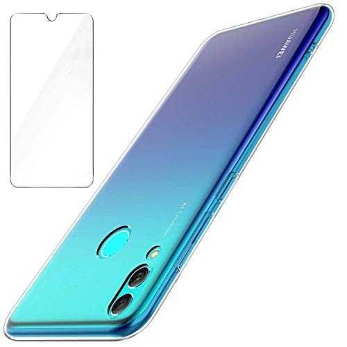 Garegce Coque Huawei P Smart 2019 Ultra Fine Souple TPU Transparent Silicone Bumper Case Transparent
