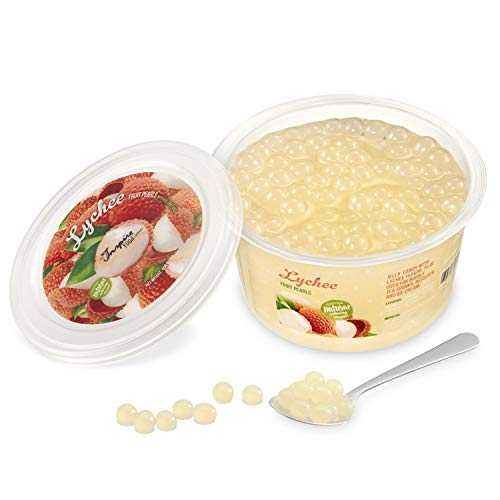Popping Bobba Originale pour Bubble Tea - 450g - Litchi