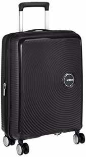 American Tourister Soundbox Spinner Hand Luggage, 55 cm, 41 L, Noir (Bass Black)