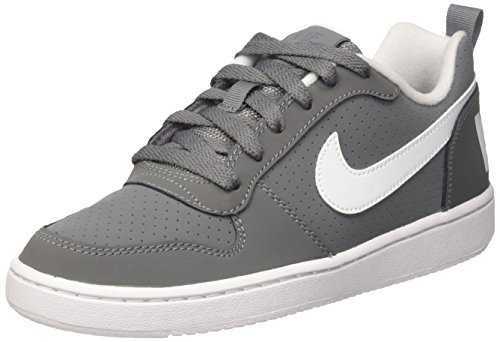 Nike Court Borough Low, Baskets Mixte Enfant, Gris (Cool Grey/White), 39 EU