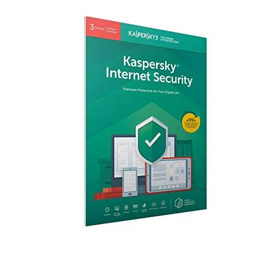 Kaspersky Internet Security 2019 - 3 Postes / 2 Ans pour PC / Mac / Android