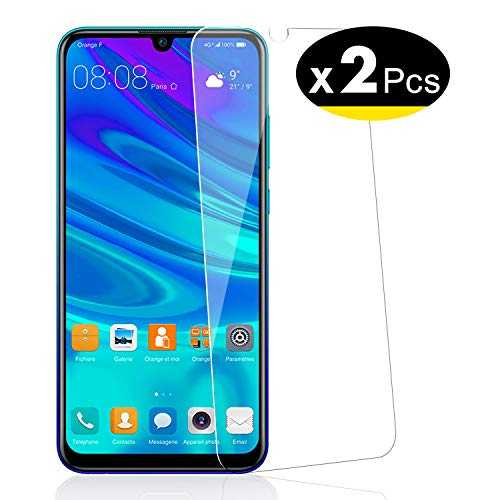 NEW'C Verre Trempé pour Huawei P Smart 2019 / Honor 10 Lite, [Pack de 2] Film Protection écran - Anti Rayures - sans Bulles d'air -Ultra Résistant (0,33mm HD Ultra Transparent) Dureté 9H Glass
