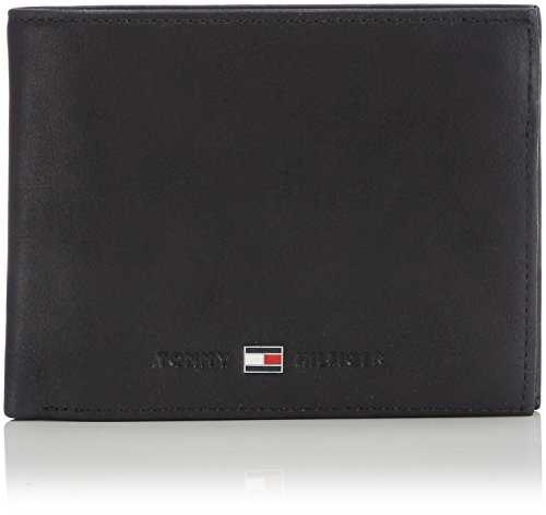 Tommy Hilfiger Johnson Cc Flap, Porte-Monnaie - Noir (Black), Taille Unique