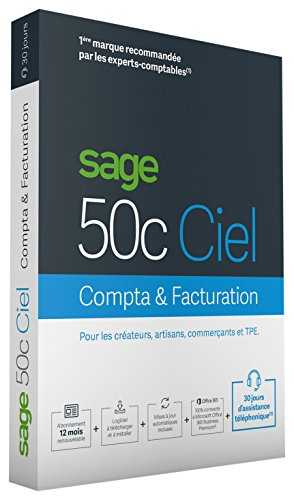Sage 50C Compta + Facturation 30 jours d'assistance