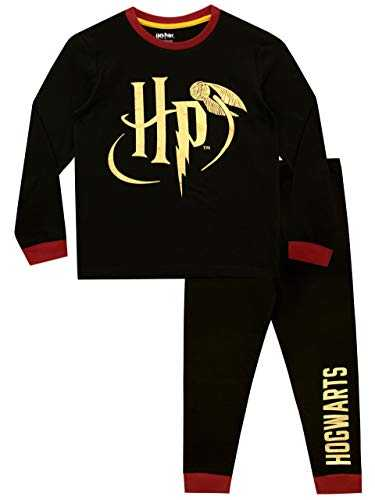 Harry Potter - Ensemble De Pyjamas - Hogwarts - Enfants - Noir - 11-12 Ans