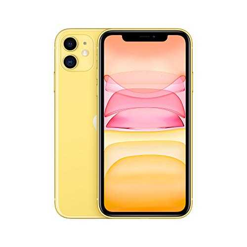 Apple iPhone 11 (64 Go) - Jaune