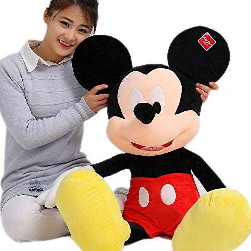 Jouets en Peluche Remplis Mickey Minnie Mouse Grande Poupée Doll Pillows Children's Couple Gifts PP Cotton Material,M2,120CM