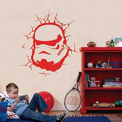 zhuziji Art Design Commando Sticker Mural Décor À La Maison Vinyle Film Sticker Mural pour Chambre d'enfant ou Salon60x67 cm