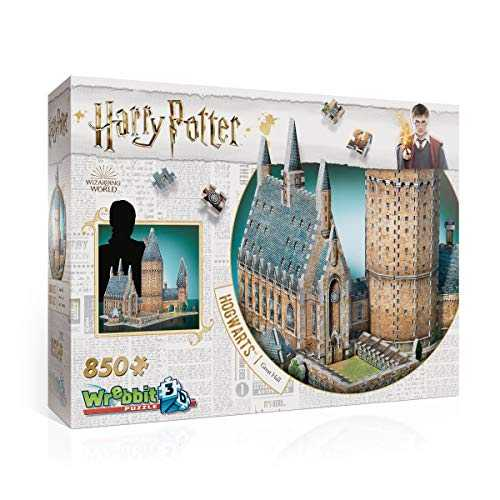 Wrebbit 3D- 3D Puzzle, Harry Potter, Hogwarts Hall, W3D-2014