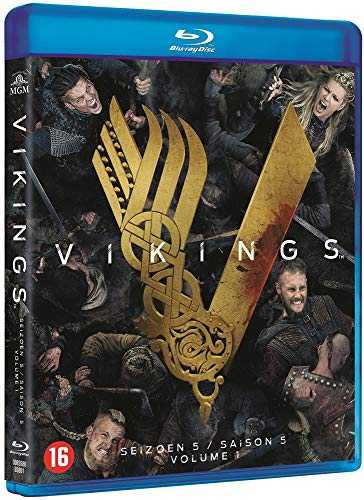 Vikings : Saison 5 Partie 1-avec Version Francaise [Blu-Ray]