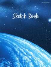 Sketch Book: Notebook for Drawing, Writing, Painting, Sketching or Doodling, 110 Pages, 8.5x11