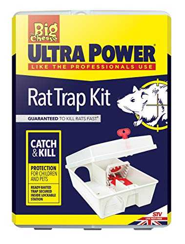 THE BIG CHEESE ULTRA POWER TRAP KIT FOR RATS - - VIC0835