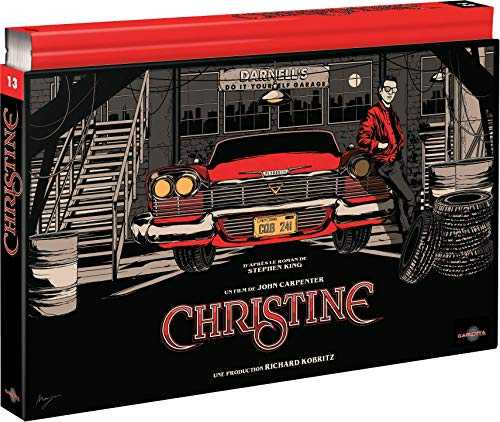 Christine [Édition Coffret Collector-4K Ultra HD + Blu-Ray + DVD + Livre]